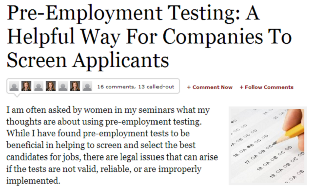 Employment Background Screening Helps Companies Nab Good Employees